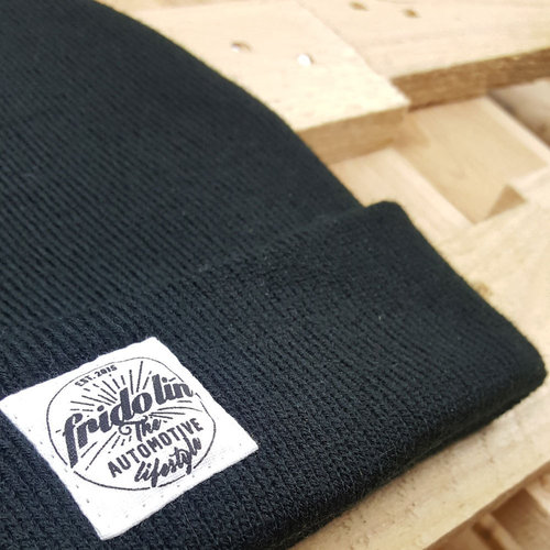 Fridolin Beanie Patch Black