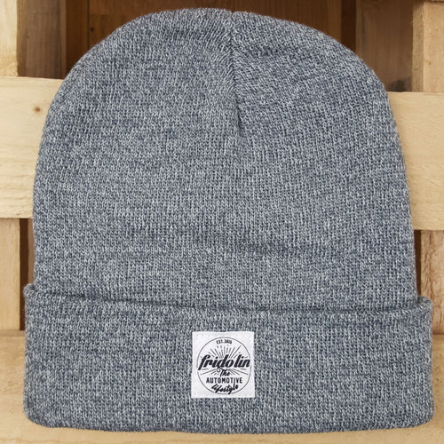 Fridolin Beanie Patch Grey