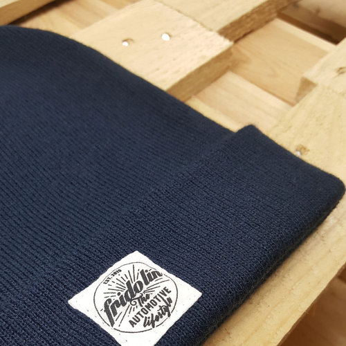 Fridolin Beanie Patch Blue